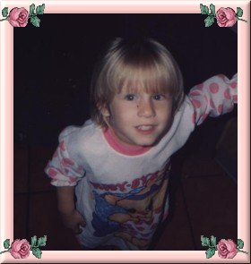 Lauren Age 3, she was just too cute for words
